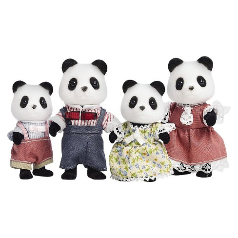 Calico Critters Wilder Panda Bear Family - image 1 of 1