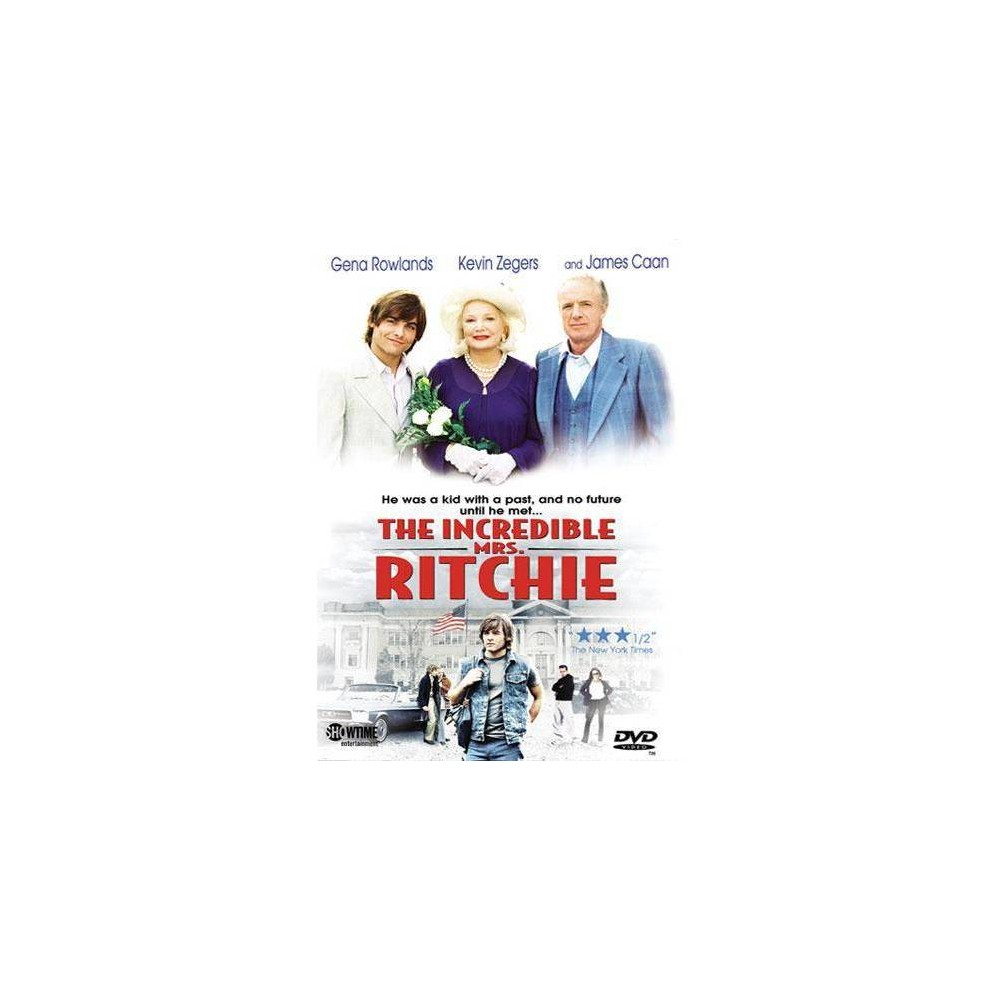 The Incredible Mrs Ritchie Dvd