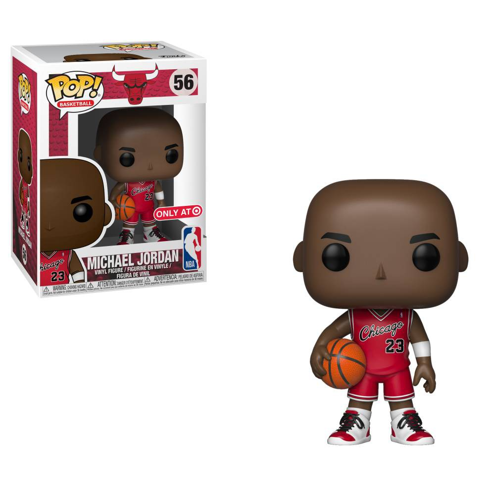 Funko Pop! NBA: Michael Jordan - Rookie Jersey (Target Exclusive)