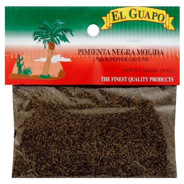 El Guapo® Ground Black Pepper 1.25 oz - image 1 of 1