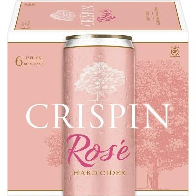Crispin Rosé Hard Cider - 6pk/12 fl oz Slim Can