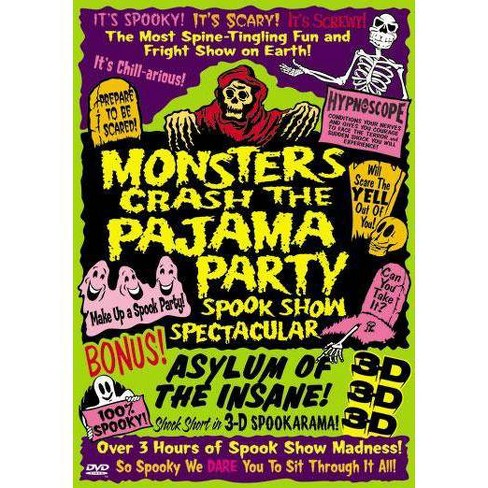 Monsters Crash The Pajama Party (DVD) - image 1 of 1