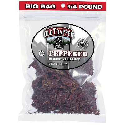 Old Trapper Peppered Beef Jerky - 4oz