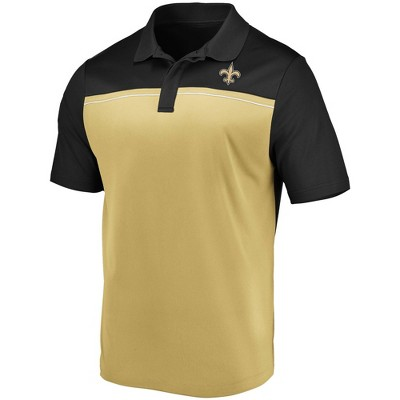 NFL New Orleans Saints Men's Spectacular Polo T-Shirt - XL