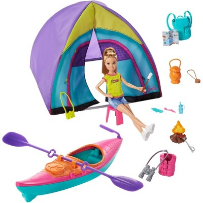 Barbie Team Stacie Summer Camp Playset