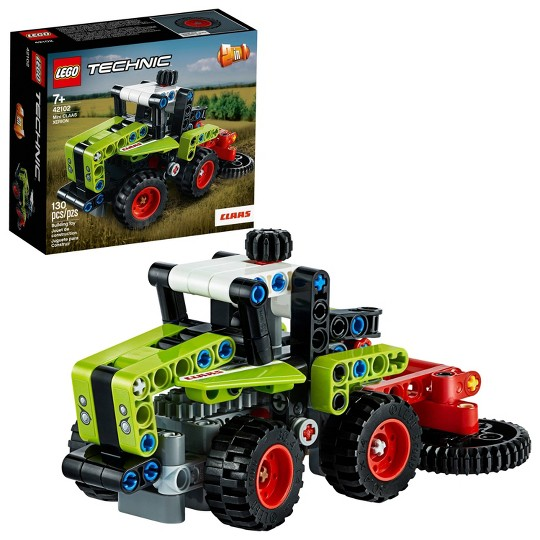 LEGO Technic Mini CLAAS XERION 42102 Toy Tractor Building Kit image number null
