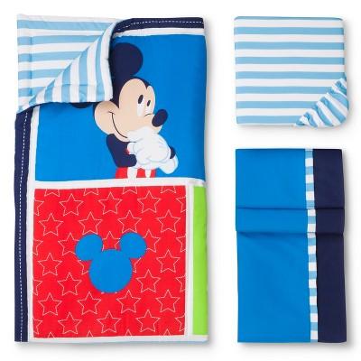 Mickey 3 pc crib set