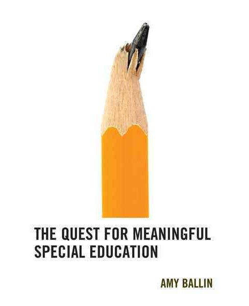 Quest for Meaningful Special Education (Hardcover) (Amy Ballin) - image 1 of 1