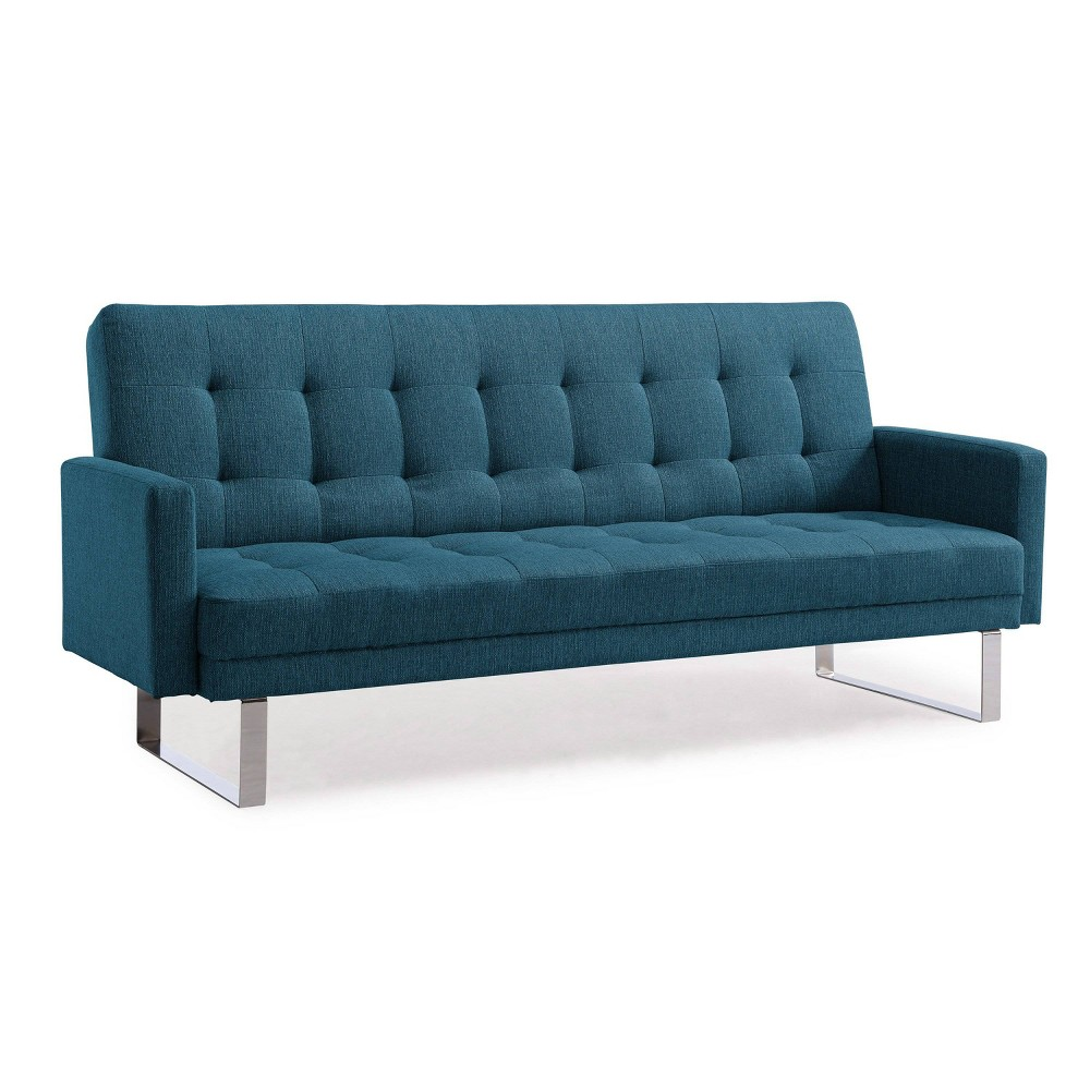Swink Click Clack Futon Sofa Bed Blue - Handy Living