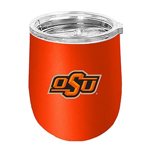 NCAA Oklahoma State Cowboys Matte Stainless Steel Wine Tumbler - image 1 of 1