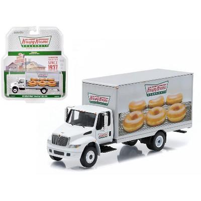 2013 International Durastar Box Van Krispy Kreme Donuts Delivery Truck HD Trucks Series 4 1/64 Diecast Model Greenlight