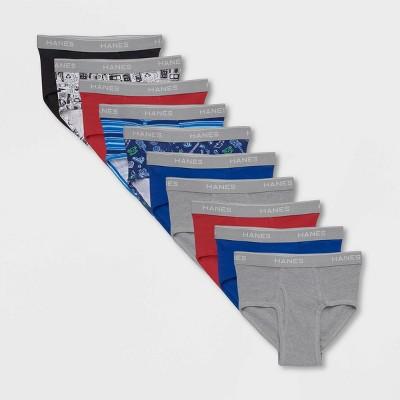Hanes Boys' 7 + 3 Bonus Pack Briefs - Colors Vary