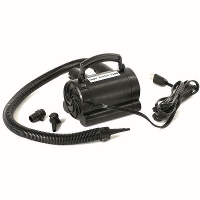 Swimline 9095 Electric Air Pump for Inflatable Rafts and Air Mattresses, Black