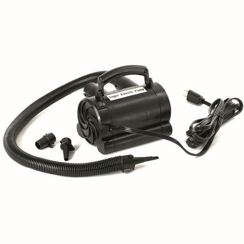 Swimline 9095 Electric Air Pump for Inflatable Rafts and Air Mattresses, Black - image 1 of 4