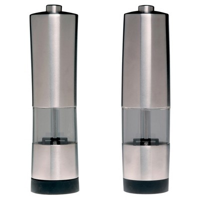 Berghoff Geminis 2pc Electronic Salt and Pepper Mill Set