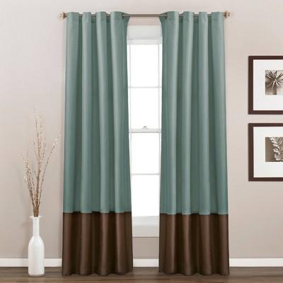 Set of 2 Prima Light Filtering Window Curtain Panels - Lush Décor