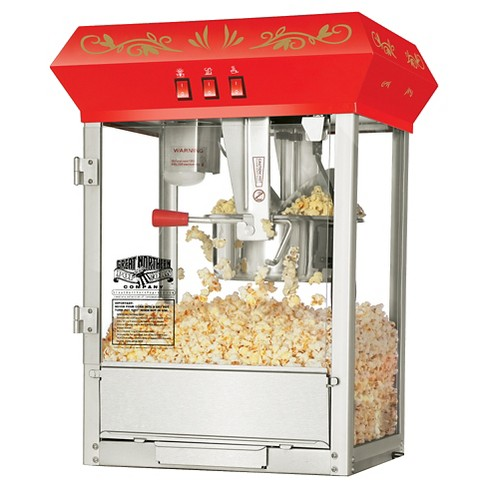Great Northern Popcorn Red Countertop Foundation Popcorn Popper Machine, 8oz - image 1 of 5