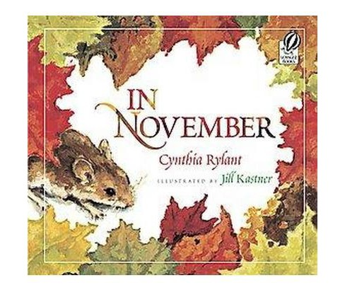 In November (Reprint) (Paperback) (Cynthia Rylant) - image 1 of 1