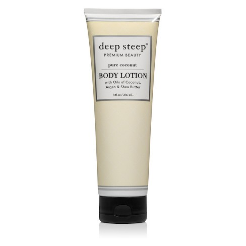 Deep Steep Pure Coconut Body Lotion - 8 fl oz - image 1 of 2