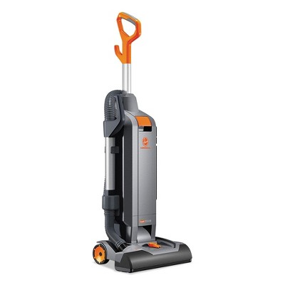 Hoover Commercial CH54115 HushTone 10 Amp 15 in. Vacuum Cleaner with Intellibelt - Orange/Gray