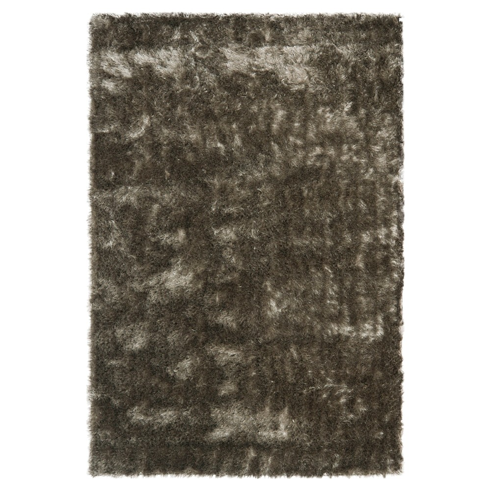 Silver Solid Loomed Area Rug - (4'X6') - Safavieh