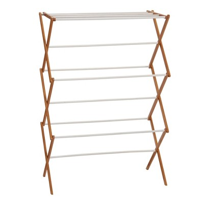 Household Essentials Bamboo Dryer Rack