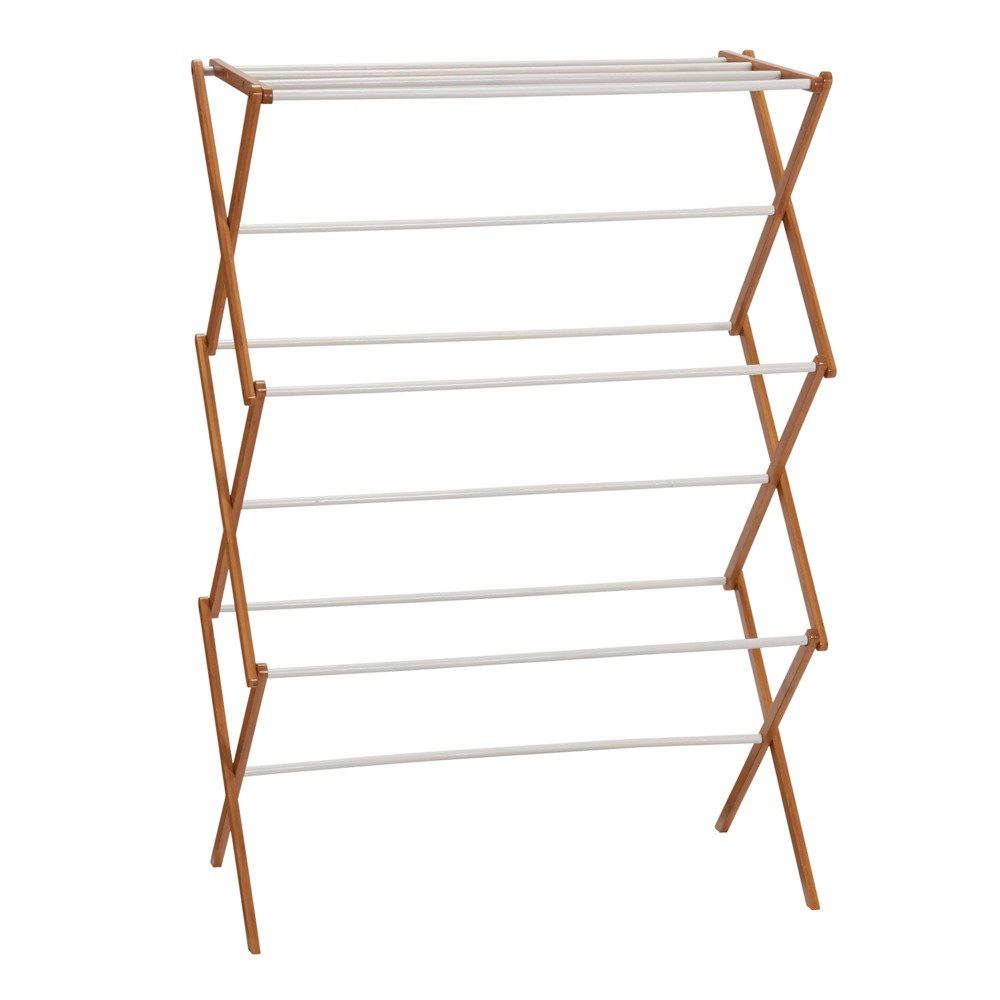 Image of Household Essentials Bamboo Dryer Rack