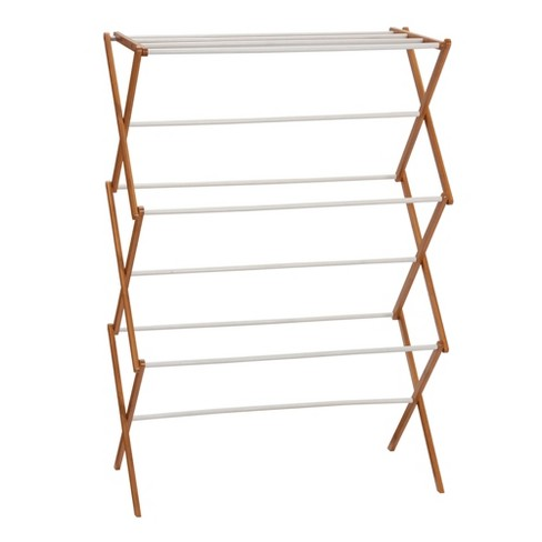 Household Essentials Bamboo Dryer Rack - image 1 of 4
