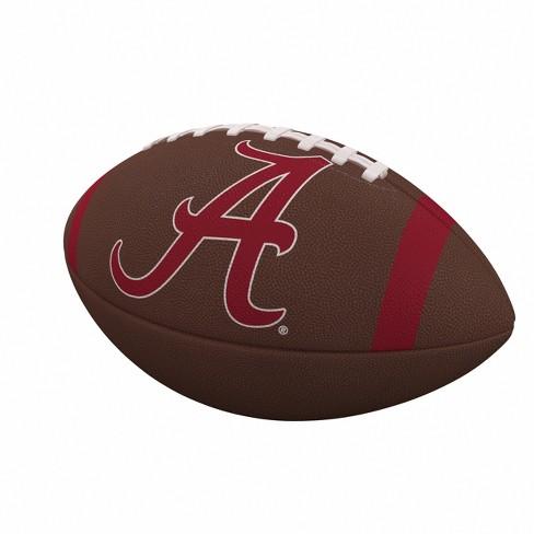 NCAA Alabama Crimson Tide Team Stripe Official-Size Composite Football - image 1 of 1