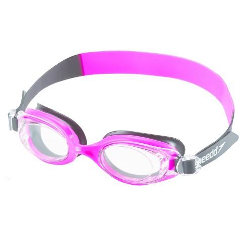 Speedo Adult Hydrofusion Goggle - Black/Pink - image 1 of 1