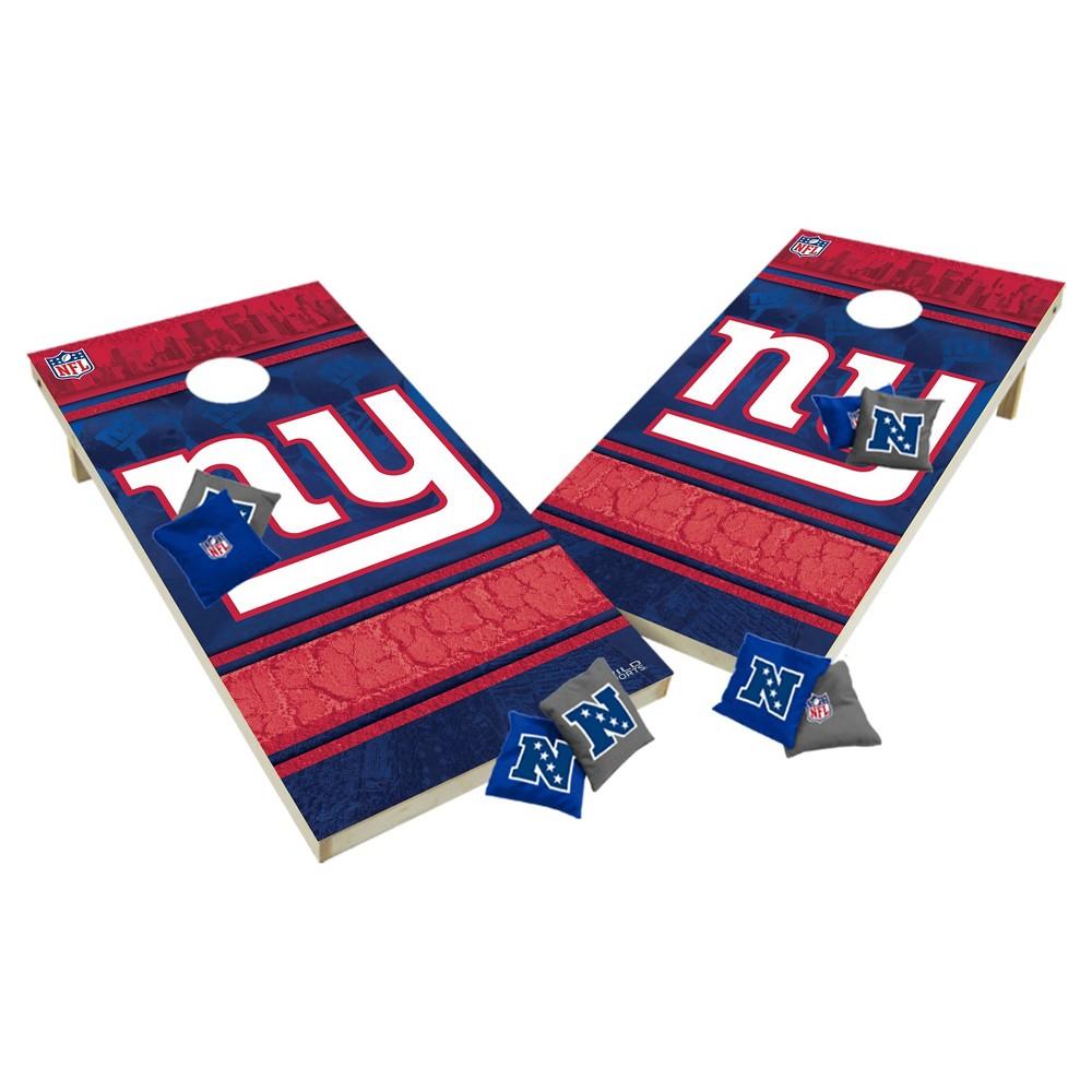 NFL New York Giants Wild Sports Tailgate Toss 2x4 Platinum Shield