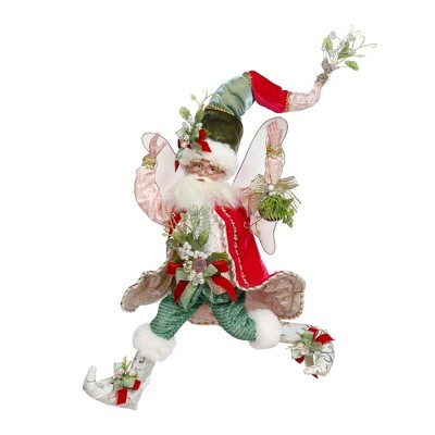 Mark Roberts Products Mark Roberts Red and Green Mistletoe Christmas Fairy, Medium 16-Inches