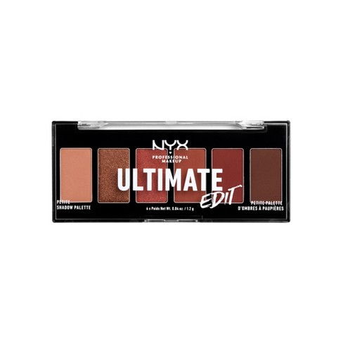 NYX Professional Makeup Ultimate Edit Petite Shadow Palette - 0.04oz - image 1 of 5
