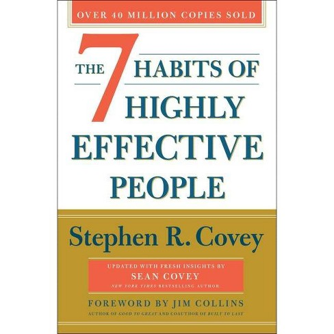 The 7 Habits of Highly Effective People: Revised and Updated - by  Stephen R Covey & Sean Covey - image 1 of 1