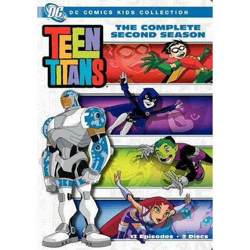 Teen Titans: The Complete Second Season (DVD) - image 1 of 1