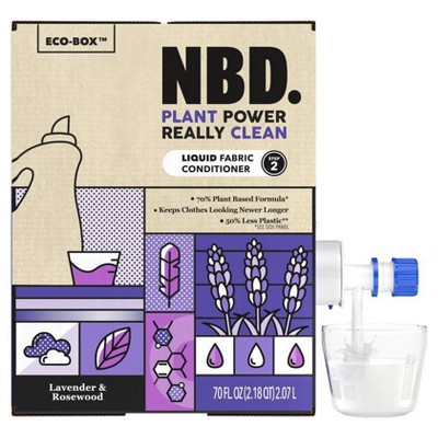 NBD Liquid Fabric Conditioner - Lavender & Rosewood - 70 fl oz