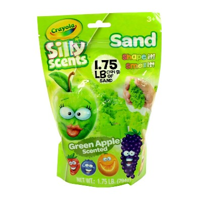 Crayola Silly Scents Sand Bag Green Apple