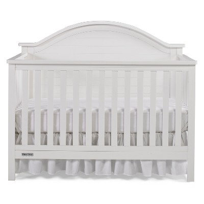 Fisher-Price Liam 4-in-1 Convertible Crib - Snow White