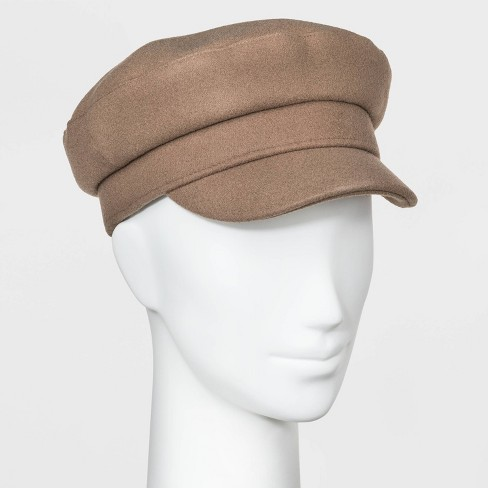 Women's Captain Hat - Universal Thread™ Taupe One Size - image 1 of 1