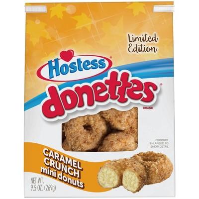 Hostess Caramel Crunch Donettes - 9.5oz