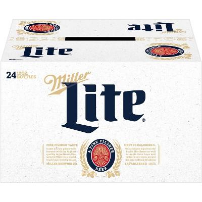 Miller Lite Beer - 24pk/12 fl oz Bottles