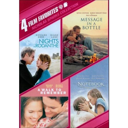 Nicholas Sparks Collection: 4 Film Favorites [4 Discs] - image 1 of 1