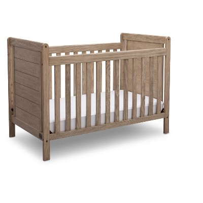 Serta Cali 4-in-1 Convertible Crib - Rustic Whitewash