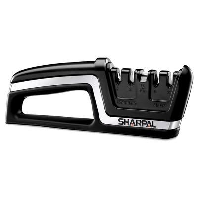 SHARPAL Professional 5-In-1 Knife and Scissors Sharpener Black