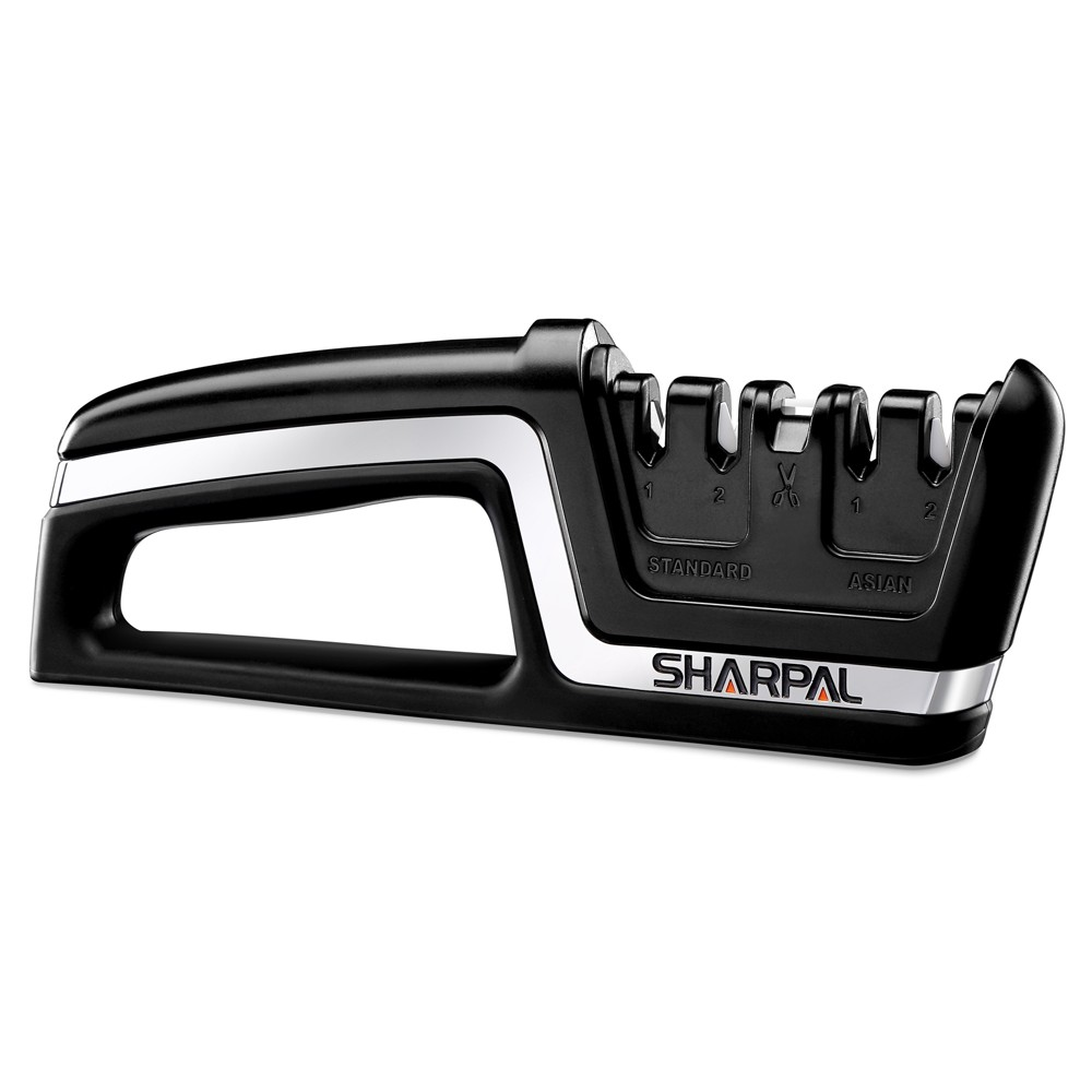 Image of SHARPAL Professional 5-In-1 Knife and Scissors Sharpener Black
