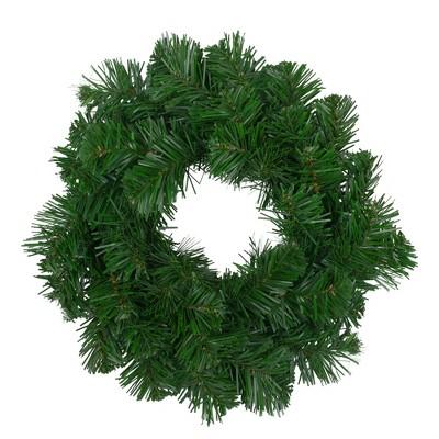 """Northlight 10"""" Unlit Deluxe Windsor Pine Artificial Christmas Wreath"""