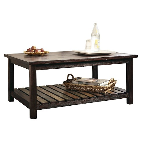 Mestler Rectangular Cocktail Table Rustic Brown - Signature Design by Ashley - image 1 of 3