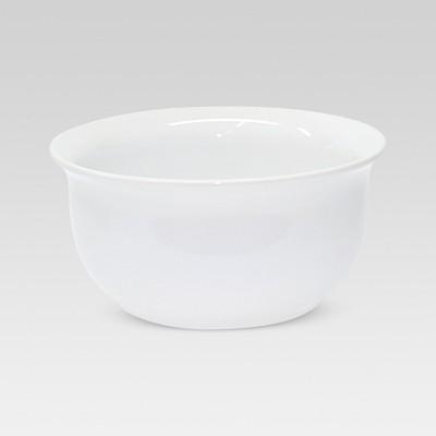 62oz Porcelain Scalloped Serving Bowl White - Threshold™