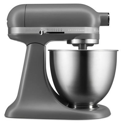 KitchenAid Refurbished Artisan Mini 3.5 Quart Tilt-Head Stand Mixer Gray - RKSM33XXFG
