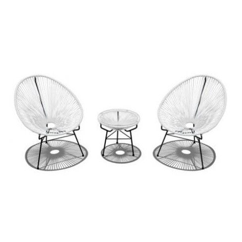 Acapulco 3pc Patio Set with Table - Infinity - image 1 of 4